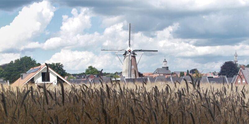 De molen is weer open